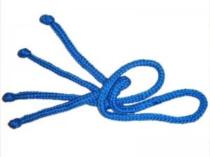 at ropes end