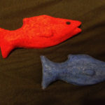 Red Blue Fish