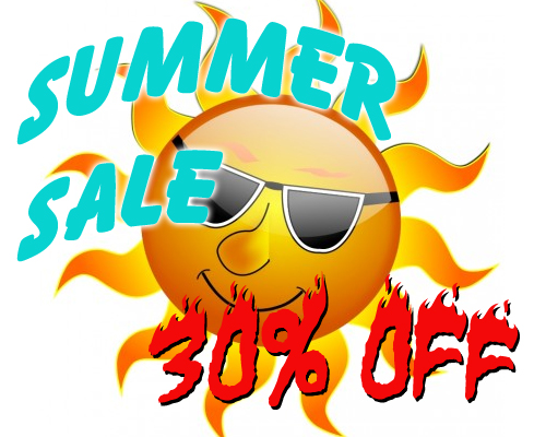 Summer Sale 30% Off