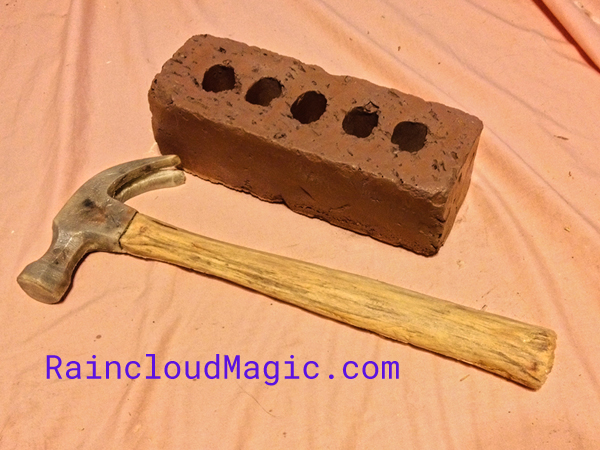 Foam Brick and Foam Hammer