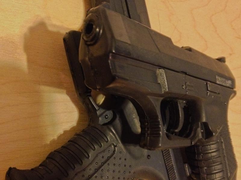 foam rubber gun